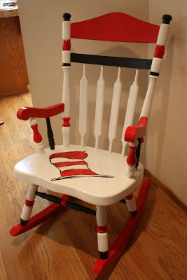 Dr Seuss Rocking Chair Home Is Where My Story Begins