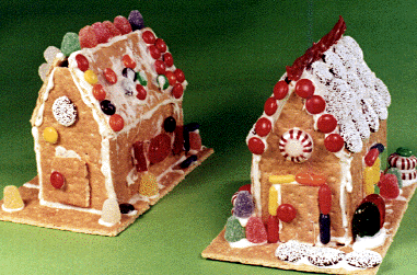 How To Make Gingerbread Graham Cracker Houses Home Is