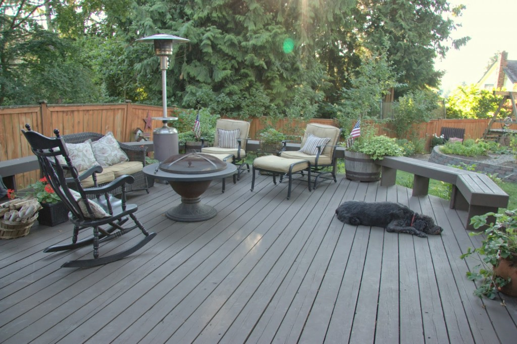 Behr Deckover Update Over One Year Later Home Is Where