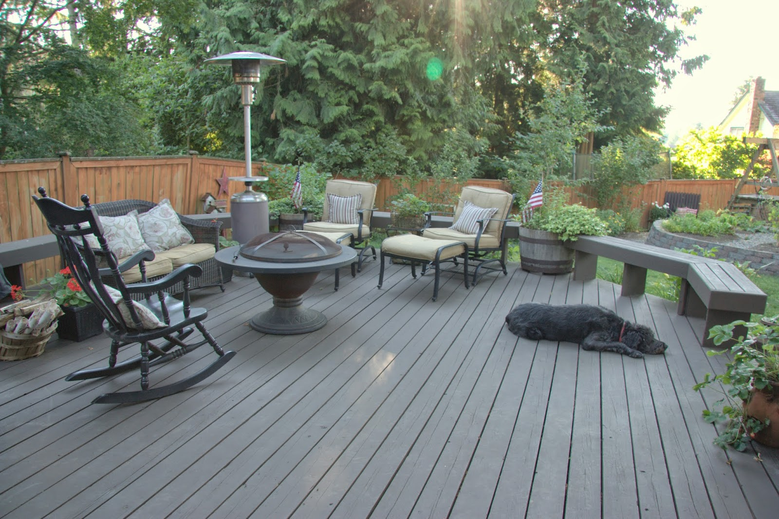 Behr deckover update over one year later home is where for Behr deck over