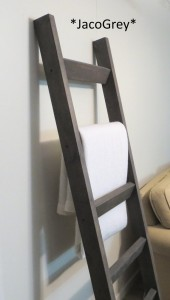 blanket ladder from JustKnotWood